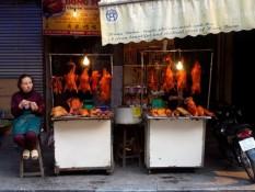 Manger à Hanoi