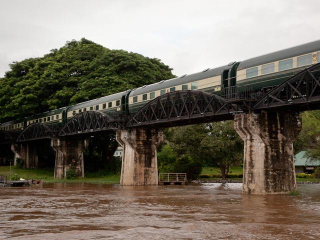 A bord de l'Eastern & Oriental Express