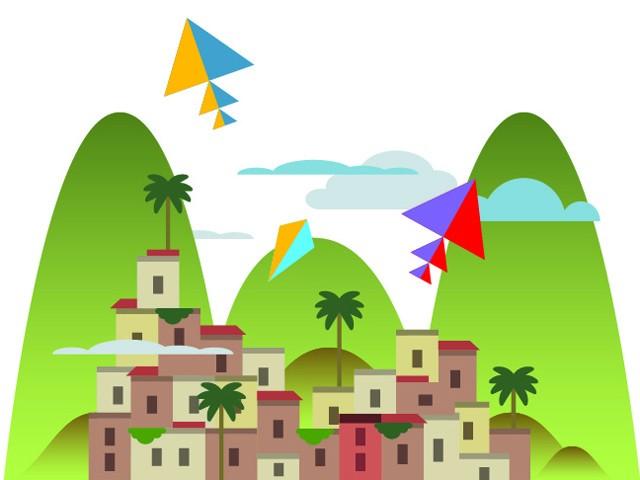 Carte postale - Favela Chic
