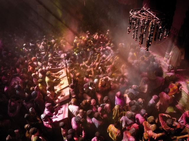 Inde - Couleurs sacrées de la fête de Holi
