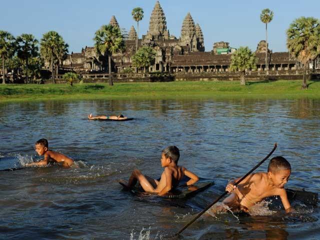 Petits temples entre amis - Cambodge