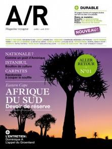 Couverture du numéro 01 de A/R magazine voyageur