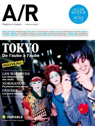 Couverture du numéro 02 de A/R magazine voyageur