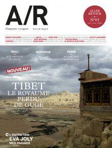 Couverture du numéro 03 de A/R magazine voyageur