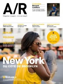 Couverture du numéro 05 de A/R magazine voyageur