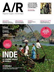 Couverture du numéro 07 de A/R magazine voyageur