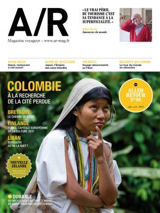 Couverture du numéro 08 de A/R magazine voyageur