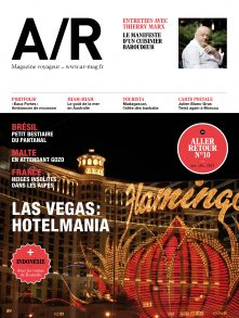 Couverture du numéro 10 de A/R magazine voyageur
