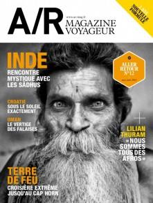 Couverture du numéro 12 de A/R magazine voyageur