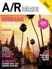 Couverture du numéro 13 de A/R magazine voyageur