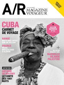 Couverture du numéro 14 de A/R magazine voyageur