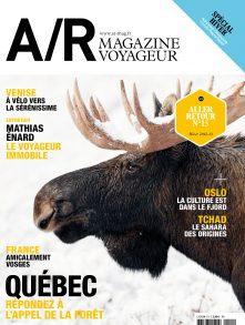 Couverture du numéro 15 de A/R magazine voyageur