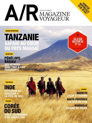 Couverture du numéro 16 de A/R magazine voyageur