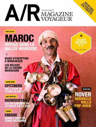 Couverture du numéro 17 de A/R magazine voyageur