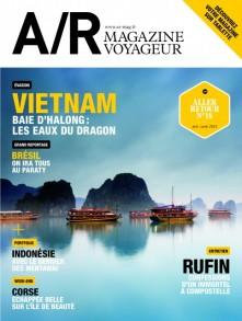 Couverture du numéro 18 de A/R magazine voyageur