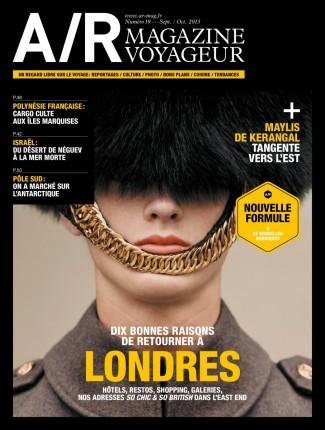 Couverture du numéro 19 de A/R magazine voyageur