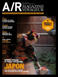 Couverture du numéro 20 de A/R magazine voyageur