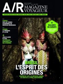 Couverture du numéro 22 de A/R magazine voyageur