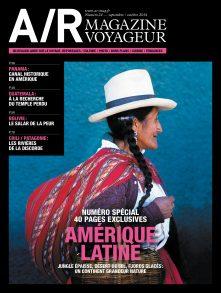 Couverture du numéro 24 de A/R magazine voyageur