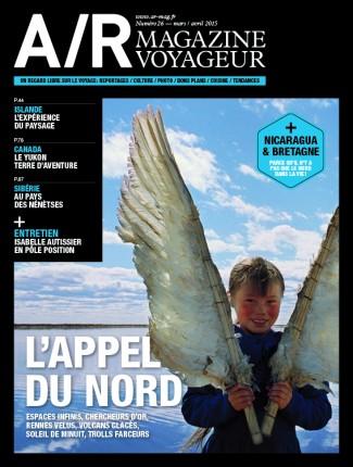 Couverture du numéro 26 de A/R magazine voyageur