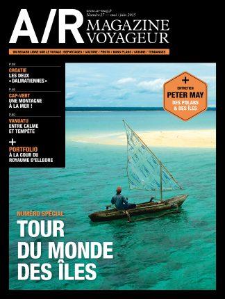 Couverture du numéro 27 de A/R magazine voyageur