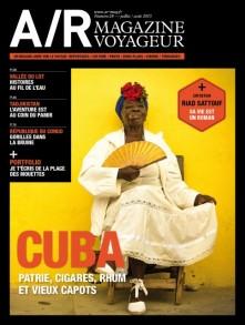 Couverture du numéro 28 de A/R magazine voyageur