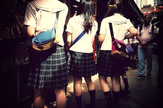 L'empire des uniformes d'écolières et des culottes usagées