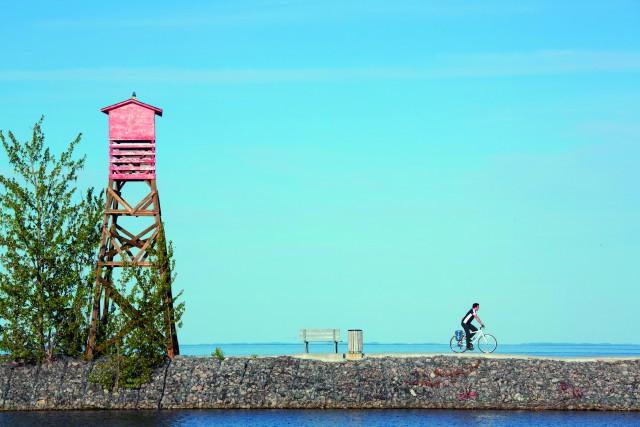 Le Québec en roue libre