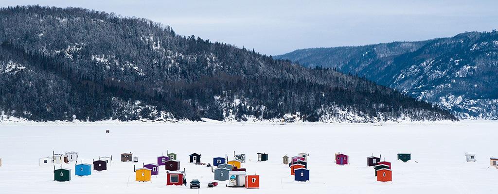 Fjord du Saguenay – La pêche sous la glace