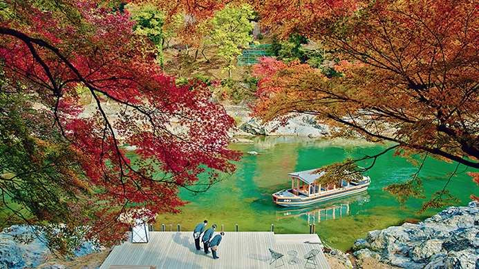 Comme dans un rêve – Hoshinoya (Kyoto)