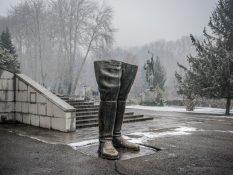 Téhéran - Le shah botté
