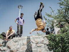 Téhéran - Le parkour du combattant