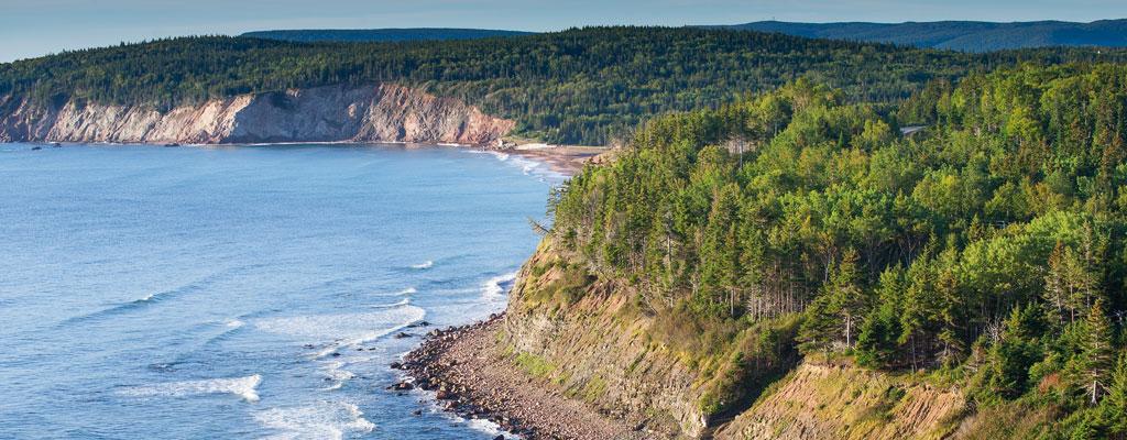 La terre aux pinces d'or - Nouvelle-Ecosse / Canada