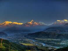 Népal - Des plans pour planer