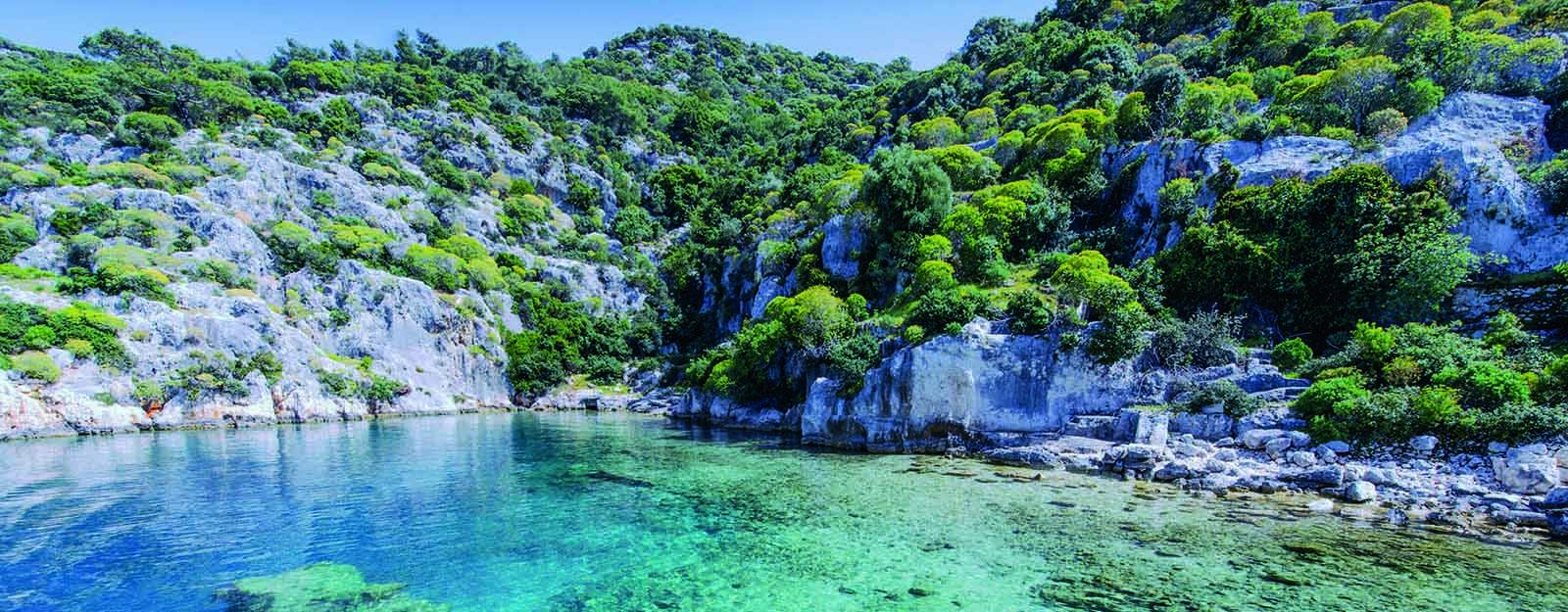 Joindre l'antique à l'agréable sur la voie lycienne en Turquie