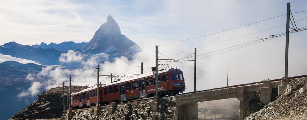 Suisse - Trains avec vues